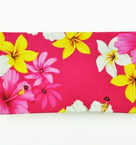Canvas Zipper Pouch – Small Dream of Flower Pink