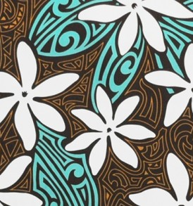 PAA1198 Turquoise Brown