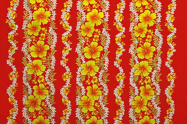 Hawaii Fabric Mart 187 Pba1273 Red