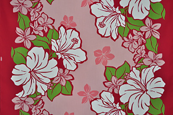 Pbb2267 Red Hawaii Fabric Mart