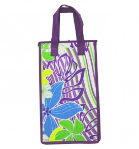 HTPBDW0005 – Double Wine Bag Purple