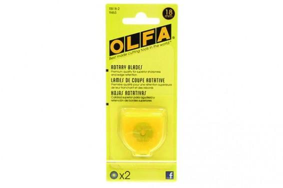 OlfaRotaryBladesRefill18mm