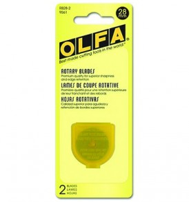 OlfaRotaryBladesRefill28mm