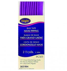 Wrights Maxi Cord Piping Purple