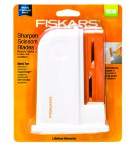 Fiskars Sharpen Scissors Blades