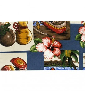 Canvas Zipper Pouch – Small Hawaiian Dance