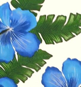 PAB0837 Cream Blue