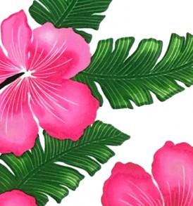 PAB0837 White Pink