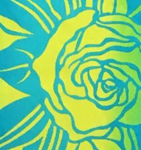 PBA1285 Turquoise Yellow