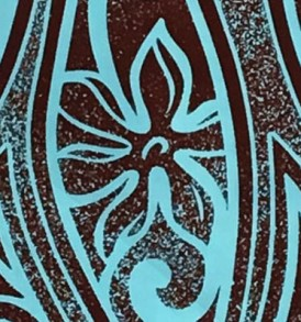 PAC1379 Brown Turquoise