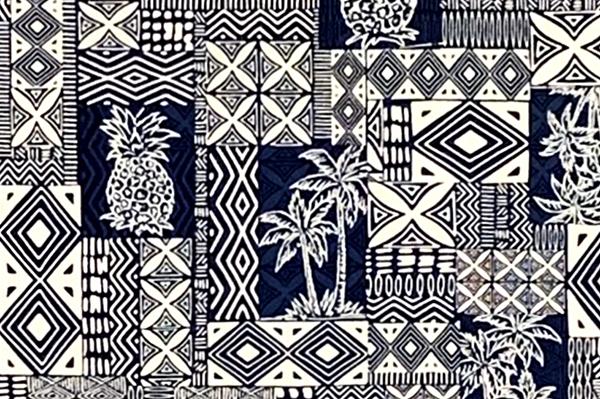 Hawaii Fabric Mart 187 Cab0227 Blue