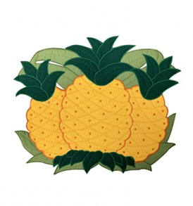 Quilted Placemat – Pineapple