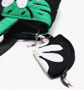 H.J Bag – Black green
