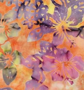 BAT0009 Orange/Fuchsia/Purple