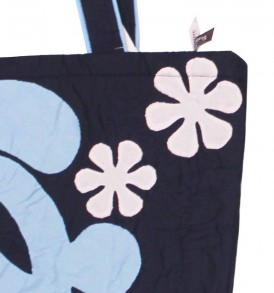 Hula bag – Navy/Sky
