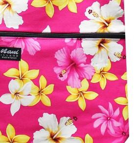 Tote Bag Zipper L – Dream of Flower Pink