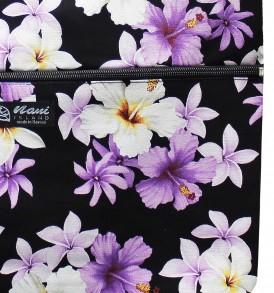 Tote Bag Zipper L – Dream of Flower Purple