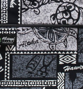 Tote Bag Zipper L – Honu Box Gray