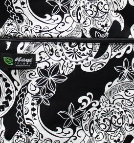 Tote Bag Zipper L – Tribal Tattoo Black