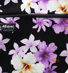 Tote Bag Zipper M – Dream of Flower Purple