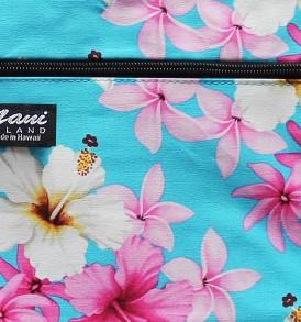 Tote Bag Zipper M – Dream of Flower Blue