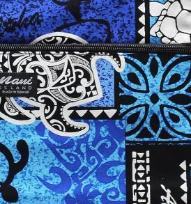 Tote Bag Zipper M – Honu Box Blue