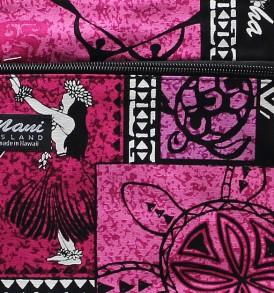 Tote Bag Zipper M – Honu Box Pink