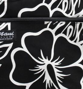 Tote Bag Zipper M – Monstera Lover Black