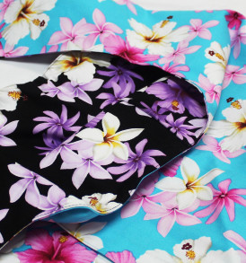 Reversible Sling Bag – Dream of Flower Blue