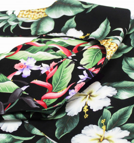 Reversible Sling Bag – Kunia Pineapple Black