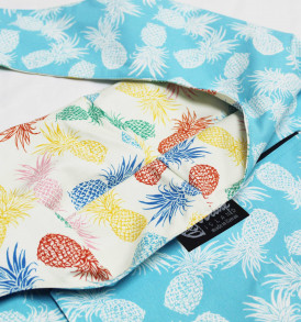 Reversible Sling Bag – Pineapple Paradise Blue